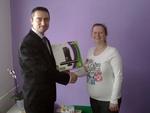 Herní konzole Microsoft Xbox 360 v soutěži s Equa bank a naším serverem předána vítězce