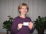 Přednabitá karta v soutěži s karetní společností VISA a naším serverem předána vítězce