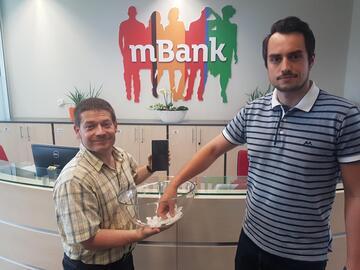Soutěž s mBank a naším serverem o Samsung Galaxy S8 zná svého vítěze
