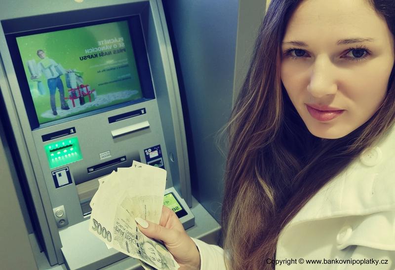 Jak jednoduše vložit peníze na účet prostřednictvím bankomatu-vkladomatu